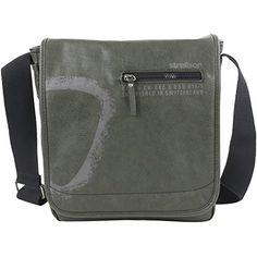 Strellson Paddington Messengerbag MV 602 darkgreen - http://herrentaschenkaufen.de/strellson/602-darkgreen-strellson-paddington-messenger-mv