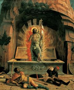 Andrea Mantegna - The Resurrection of Jesus Christ