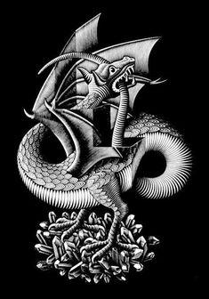 M.C Escher                                                             pined by jordan
