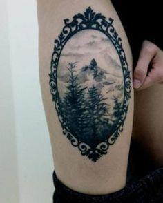 40+ Mountain Tattoo Ideas | Art and Design