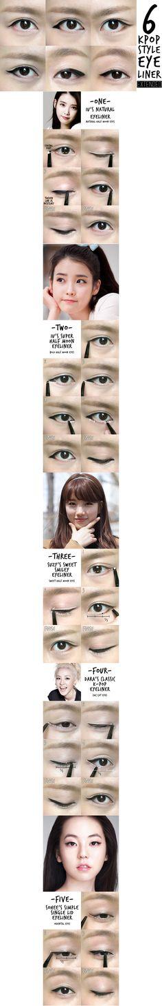 6 k pop eyeliner