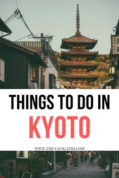 Find out what to do in Kyoto when visiting for the first time. These 7 places in Kyoto are the best things you can do in the city and cannot be missed Kyoto Travel Guide, Japan Travel Guide, Asia Travel, Travel Guides, Visit Tokyo, 7 Places, Japanese Geisha, Japanese Kimono, Kyoto Japan