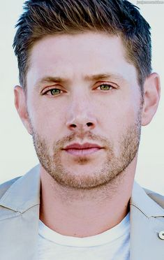 Jensen Ackles... I have no words that can describe this man.. But beautiful is not enough....