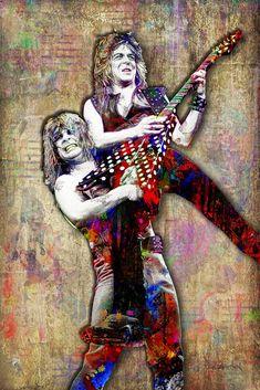 OZZY OSBOURNE RANDY RHOADS Live Black Sabbath 8 x 10 Glossy Photo Man Cave