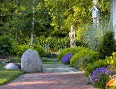 jardín de relajación