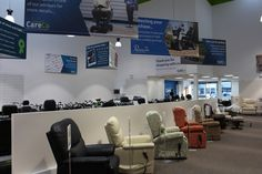 Come down to our Hayes Showroom today and take a look at our excellent range of riser recliner chairs for yourself. Want to find out more? Call 0208 561 7733 now Recliner Chairs, Showroom, How To Find Out, Range, Shopping, Home Decor, Power Recliner Chairs, Cookers, Lane Furniture Recliner
