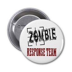 Zombie Button #zazzle #zombie #button