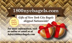 Anyone that has lived in NYC knows that New York City Bagels are the finest in the world. It's due to the water, no one else has it. If you want the best, delivered fresh, you came to the right place. Whether it's selection of assorted mini bagels or a plain Bagel, we have them all. https://1800nycbagels.com