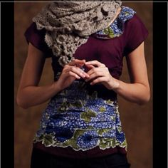 ‼️sale‼️Gorgeous Anthroplogie Top Gorgeous Anthropologie Top. 68% Cotton, 32% Silk. Anthropologie Tops