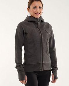 lulu hoodie. To look sporty :P