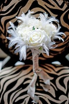 feather bouquet