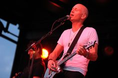 Matt Scannell of Vertical Horizon performs during the Stand Up. Speak Out. anti-bullying concert Aug. 17 at Security Service Field in Colorado Springs, Colo. Multi-platinum selling artist Vertical Horizon was one of six artists from across the United States uniting for the concert in Falcon School District 49. Multi-platinum selling artist Vertical Horizon headlined the event.