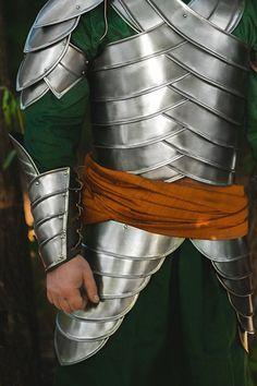 LARP Steel Armor - Second Age Elves - Elven Forest