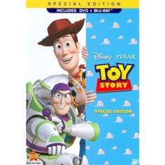 I'm learning all about Disney Toy Story [Special Edition] [2 Discs] [DVD/Blu-ray] at @Influenster!