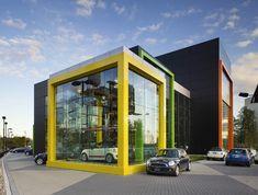 BMW Mini, Toronto | RAW Design; Landscape: The Planning Partnership  | Archinect