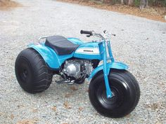 Vintage Motorsports is your one-stop ATV restoration resource. We can restore ATV, Three-wheeler, minibike to brand new condition! Honda 125, Honda Bikes, Dirt Bike Girl, Girl Motorcycle, Motorcycle Quotes, Classic Honda Motorcycles, Custom Motorcycles, Cafe Racer Bikes, Mini Bike