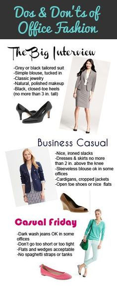 Do's and don'ts of Office Fashion
