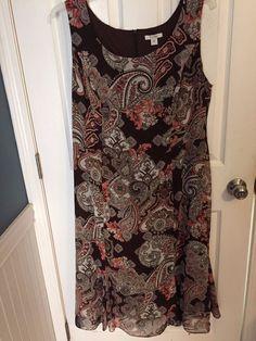 Dressbarn Woman 18W Plus Size Dress Sleeveless  #dressbarn #Dress #Casual