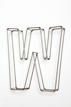 Sweet metal letters