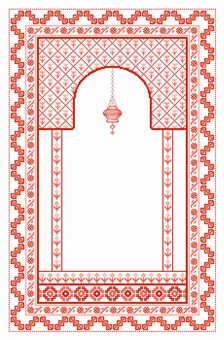 Design from my Prayer rugs book.