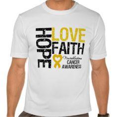 Neuroblastoma Cancer Ribbon T-shirts, Shirts and Custom Neuroblastoma Cancer Ribbon Clothing