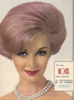 Vintage pastel hair colors, steps and formulas. Learn about some of the history of pastel hair color. The Bobby Pin Blog