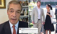 Prince Harry And Megan, Harry And Meghan, Nigel Farage, English Royalty, Farm Hero Saga, Prince Philip, Slammed, Meghan Markle, Mail Online