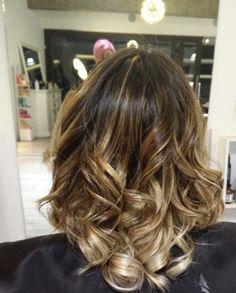 Balayage en cabello mediano