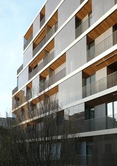Salaino 10 residential building, Milano, Italy by Antonio Citterio, Patricia Viel and Partners