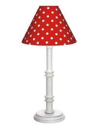 Nordika Design Lampe Stehlampe Tischlampe mit Punkten (WD81)