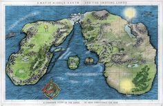 Resultado de imagem para arda map