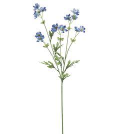27.5'' Baby Cosmos Spray x5 Blue