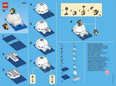 LEGO Monthly Mini Model Build:   Igloo and Penguins  January 2013 – Smashing Bricks