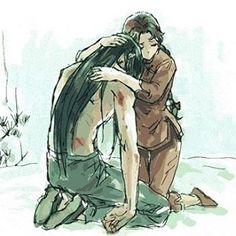 Shiryu & Shunrei  . (Créditos al artista) .  #SaintSeiya #LegendofSanctuary…