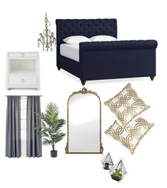 """Untitled #13"" by mora-sh on Polyvore featuring interior, interiors, interior design, home, home decor, interior decorating, Pottery Barn, Bungalow 5, Isabella Collection and Room Essentials"
