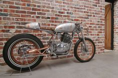 Yamaha SR250 Cafe Racer Aviator - Purpose Built moto #motorcycles #caferacer #motos | caferacerpasion.com
