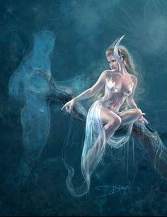 Drazenka Kimpel | Fantasy Art in a Pre-Raphaelite style | Tutt'Art@ | Pittura * Scultura * Poesia * Musica |