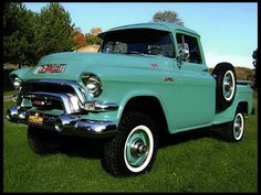 1956 GMC 100 4x4 Pickup 270 CI, 4-Speed