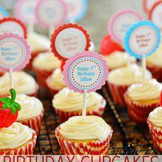 Recipe: Vanilla Birthday Cupcakes