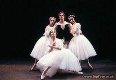 Margot Fonteyn, Rudolph Nureyev, Natalia Makarova and Lynn Seymour; London Coliseum; London, UK; July 1977
