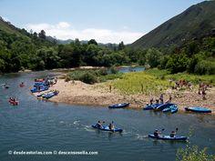 Descenso del Sella, Arriondas-Ribadesella   Asturias   Spain [Más info] http://www.desdeasturias.com/descenso-del-sella-en-canoa/