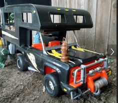 Vintage Big Jim vehicle by Mattel https://www.facebook.com/bandcollectibles