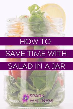 Making your own salads in a jar is a great way to save money. By using vegetables from the garden or our CSA share, I'm keeping the grocery budget down. The cost of making lunch at home is practically nothing with vegetables from the garden, leftovers and a few staples from the cupboard I have food waiting to be eaten. Compare this to the cost of a meal-sized salad from a fast-food chain where you'll spend at least $10 for something similar (but not as fresh or healthy). Healthy Eating Tips, Healthy Salads, Womens Wellness, Health And Wellness, Meal Prep For Work, Salad In A Jar, Mental Health Support, Fast Food Chains, Time Saving