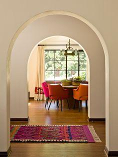 Colours! A Bright Mediterranean Home in Portland   Rue