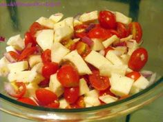 Tomato-Mozzarella Salad (TGI Fridays copycat)
