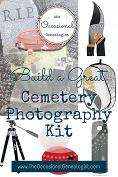 Don't take bad photos at the cemetery! Create a kit that will improve your photos and your comfort. It's time to get ready for genealogy spring break! Genealogy Forms, Genealogy Chart, Genealogy Research, Family Genealogy, Family Tree Research, Roots And Wings, Birth Records, Family Roots, Family Organizer