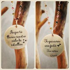 Bonita idea para el Día de la Madre!  #diadelamadre #regalo #personalizado #joyas
