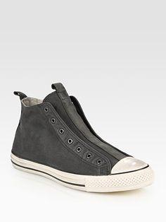 Converse by John Varvatos - John Varvatos Laceless Canvas High Top Sneakers - Saks.com