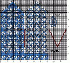 30 Patrones de Mitones Jackard Crochet Mittens Free Pattern, Knit Mittens, Mitten Gloves, Knitting Charts, Knitting Stitches, Knitting Patterns, Filet Crochet, Crochet Motif, Bead Loom Patterns