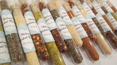 Unique Wedding Favors  Spices and Rubs Foodie by InNonnasKitchen